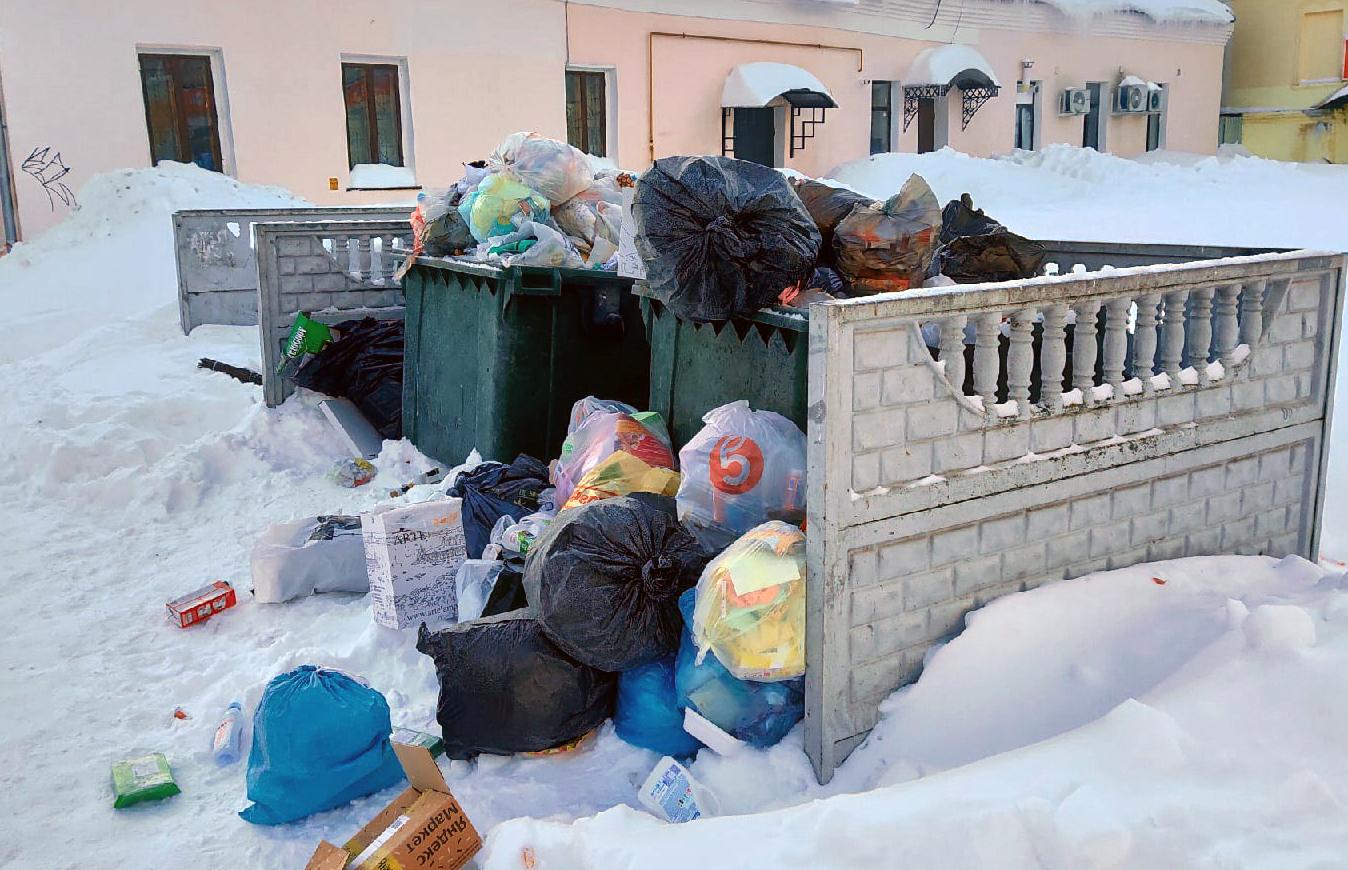 мусор калуга