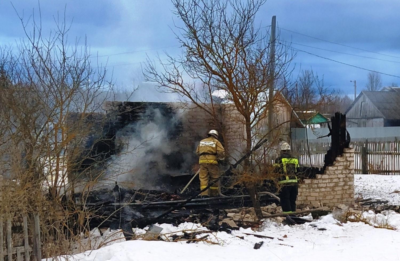 пожар калужская область погиб 28 февраля 2021 года мчс