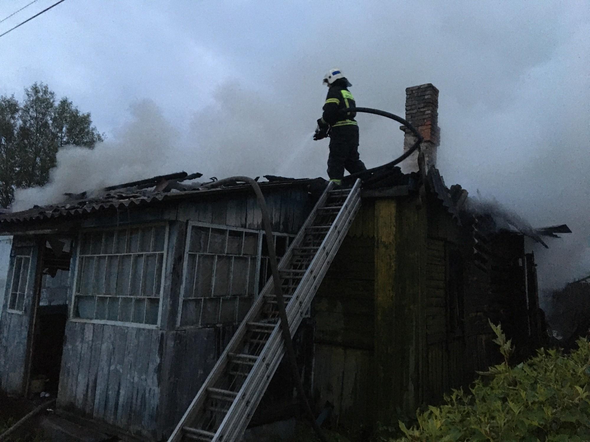 Пожар в Кирове Калужская область
