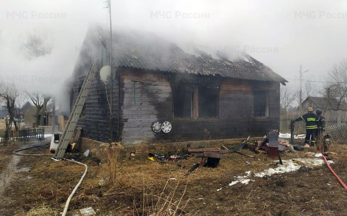 пожар боровский район калужская область уваровское мчс 7 апреля 2021 года