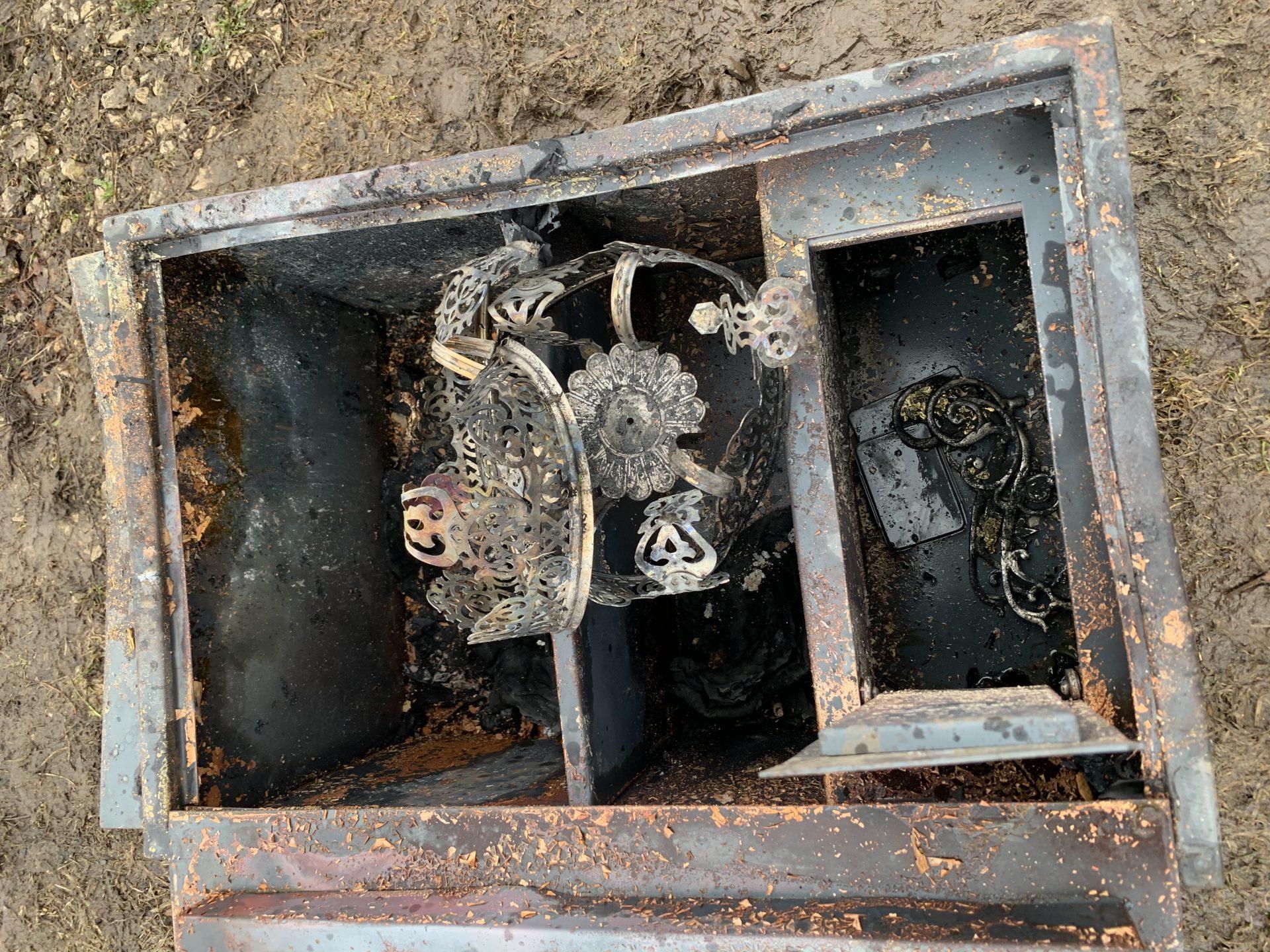 Храм сгорел в Калужской области