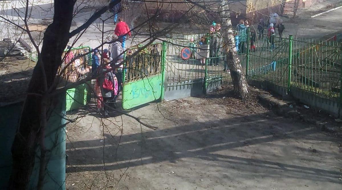 калуга эвакуация детей 13 апреля 2021 года