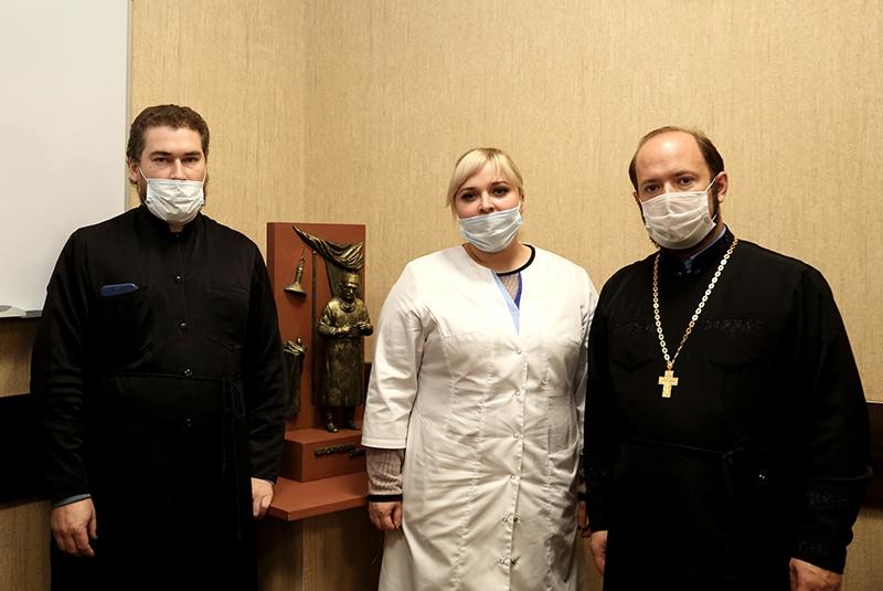 Священники коронавирус Калуга БСМП красная зона