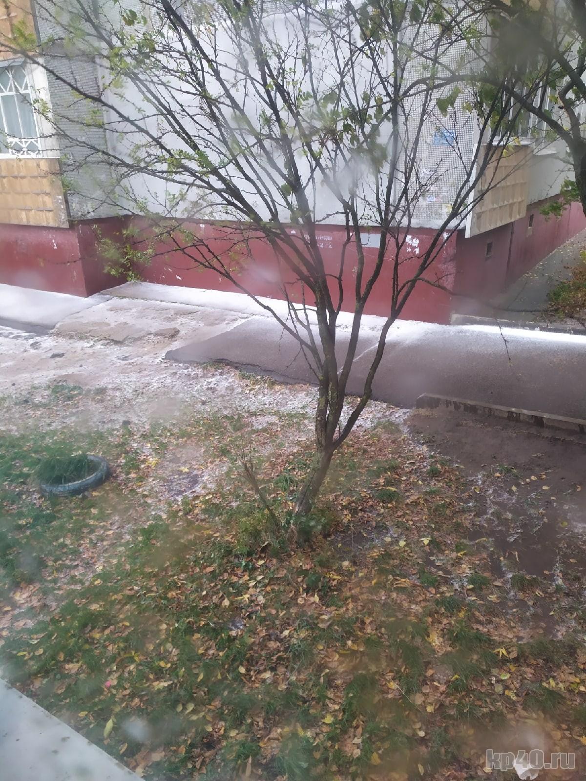 первый снег калуга